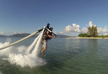 Your next holiday could be spent flying a jetpack