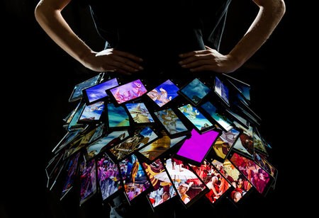 Nokia Lumia 1520 dress to be shown at London Fashion Week - photo 1