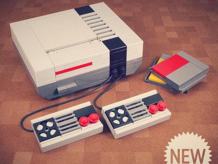 Get yourself a Lego NES console with Powerpig's Builds 'n Things