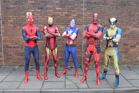 Be a genuine superhero with Morphsuits' AR enhanced Marvel costumes