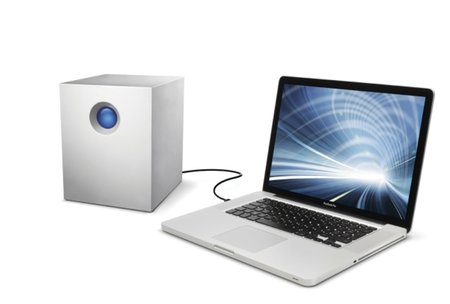 LaCie first to ship massive 5TB external hard drive as part of Thunderbolt or Quadra series