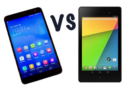 Huawei MediaPad X1 7.0 vs Nexus 7: What's the difference?