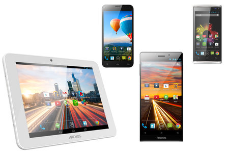 Archos outs affordable LTE 50c Oxygen tablet and octa-core powered Helium 4G smartphone