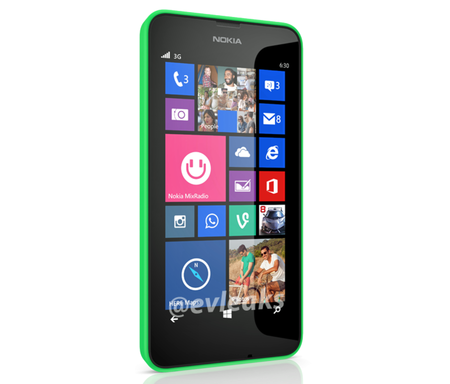 Nokia Lumia 630 leaks as first Windows Phone with on-screen buttons