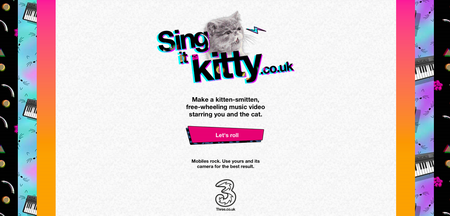 Website of the day: Sing It Kitty