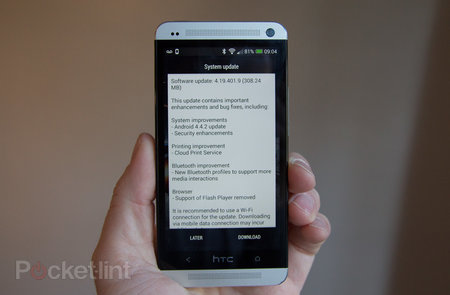 HTC One, One mini, gets Android 4.4 KitKat update in the UK