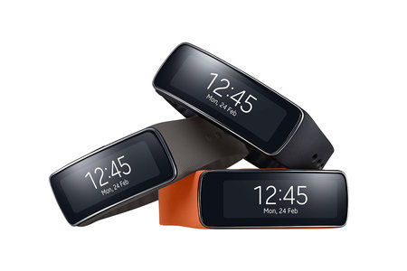 Samsung Gear Fit fitness band with curved AMOLED display debuts at Unpacked