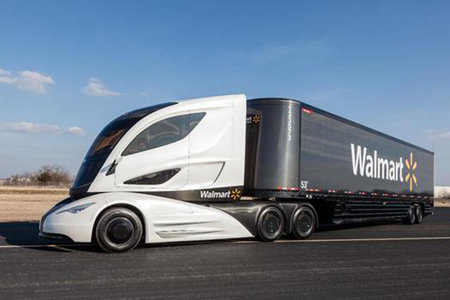 Wave is the aerodynamic micro-turbine powered truck of the future