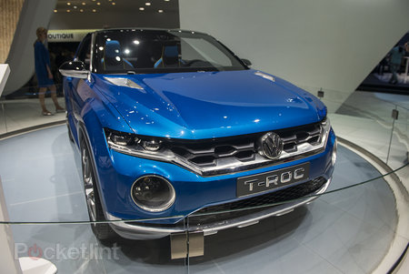 Volkswagen T-Roc pictures and eyes-on: The open-top SUV concept