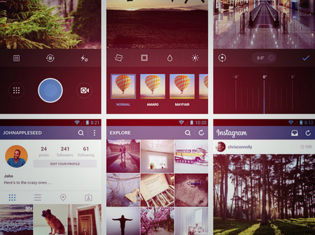 Instagram for Android update brings flatter, faster design