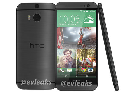 HTC One (M8) sneaks out in black suggesting multiple colours available from launch