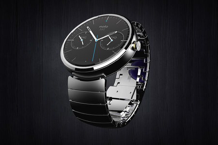 Moto 360: Motorola unveils its Android Wear smartwatch and it's round