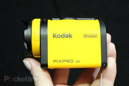 Kodak PixPro SP1, WP1 and SP360 action cameras pictures and hands-on