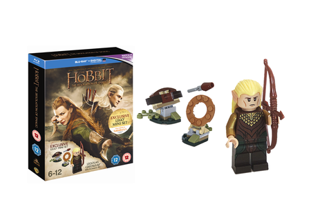 Hobbit: Desolation of Smaug Blu-ray set comes with free Hobbit Lego