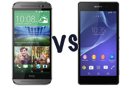 HTC One (M8) vs Sony Xperia Z2: What's the difference?