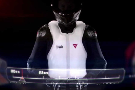 D-Air wireless airbag jackets from Ducati and Dainese protect riders from the road