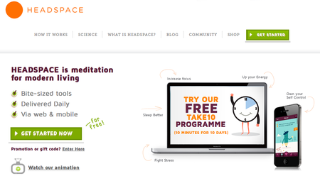 Website of the day: Headspace