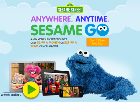 Sesame Street launches Sesame Go video streaming service, but US-only for now