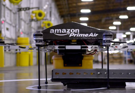 Amazon is already working on eighth-generation Prime Air delivery drone