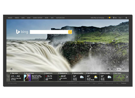 Bing's homepage adds personalised cards to take on Google Now