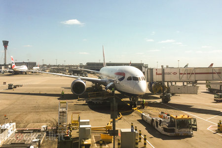 BA Boeing 787 Dreamliner: The first flight