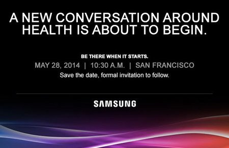 Samsung health event to take place on 28 May, ahead of Apple's expected Healthbook WWDC announcement
