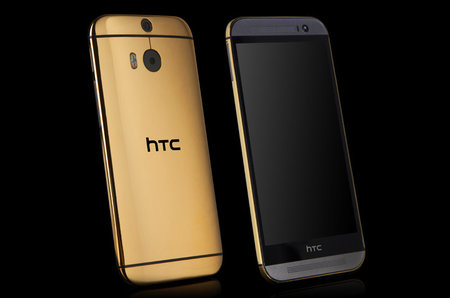 Forget the colour variant, real 24ct gold HTC One (M8) can be yours for two grand