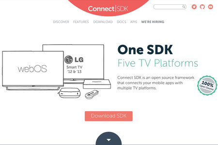 Connect SDK flings content from mobiles to multiple TV platforms easily