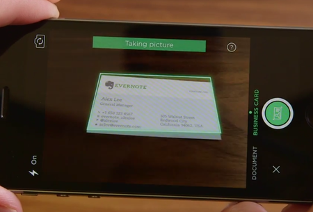 Evernote and LinkedIn team up to make business cards more useful and easier to organise
