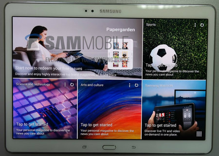 Leaked photos of Samsung Galaxy Tab S show Galaxy S5-like 10.5-inch tablet