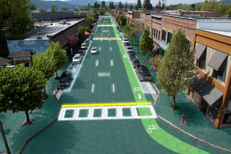 Where we're going we do need roads, solar charging roads