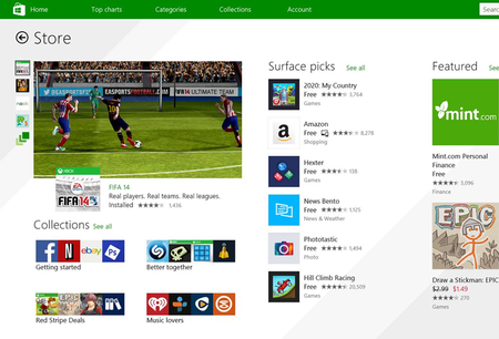 Microsoft Windows Store update vastly improves the app-finding experience