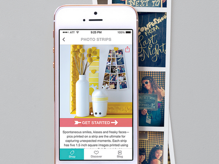 Madesquare iPhone app turns camera roll memories into hand-crafted photo products