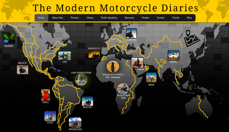 Website of the day: The Modern Motorcycle Diaries