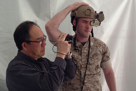 Darpa heads-up display uses Oculus Rift style head tracking