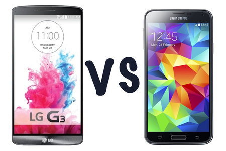 LG G3 vs Samsung Galaxy S5: What's the difference?