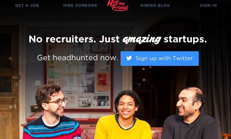 Website of the day: Hire My Friend