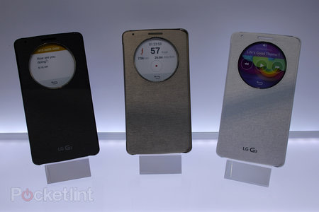 Hands on: LG G3 QuickCircle case, Tone Infinim headphones and Wireless Charger