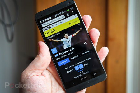 BBC Sport World Cup edition for Android and iOS pictures and hands-on