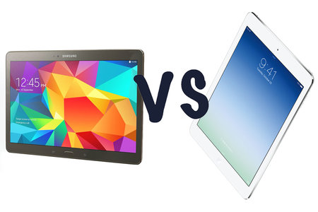 Samsung Galaxy Tab S (10.5) vs Apple iPad Air: What's the difference?