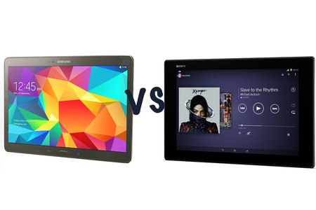 Samsung Galaxy Tab S (10.5) vs Sony Xperia Z2: What's the difference?