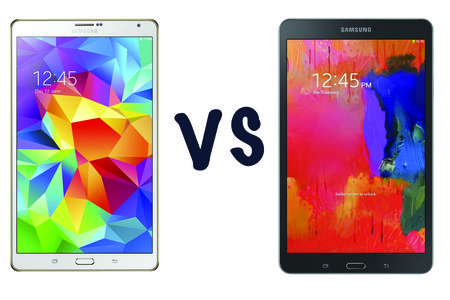 Samsung Galaxy Tab S (8.4) vs Samsung Galaxy TabPro 8.4: What's the difference?