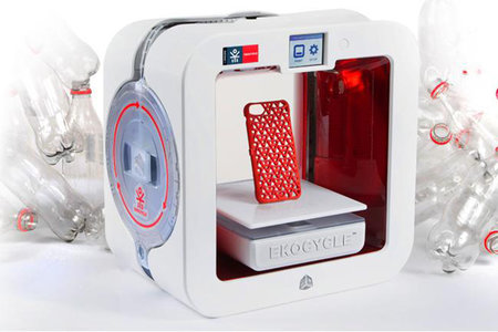 Ekocycle Cube 3D Printer uses recycled drink bottles