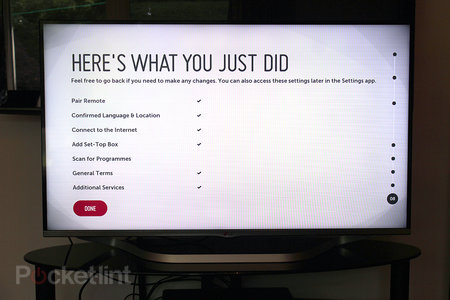 LG LB700V 42-inch Smart TV with webOS review - photo 7