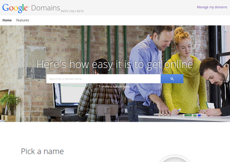 Google is now a domain registrar for custom URLs, with Google Domains invite-only beta