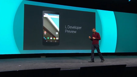 Android L Developer Preview ushers in new Material Design for Android