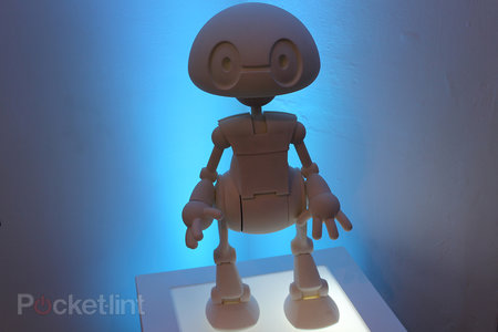 3D print your own 'Jimmy' walking, face recognising bot from Intel, the Rasberry Pi of robots