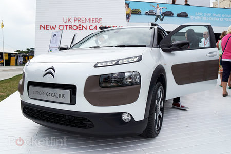 Citroen C4 Cactus in pictures: The car with air cushions for bumpers