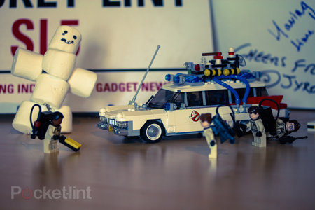 What did you do Ray? The Stay Puft Marshmallow Man attacks our Lego Ghostbusters set