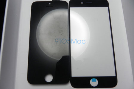 iPhone 6 glass fronts shown off in 4.7-inch and 5.5-inch variants